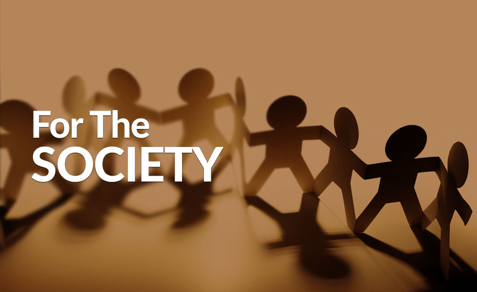 For the Society